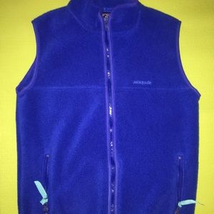 Patagonia Fleece XS Blue Made in USA EUC